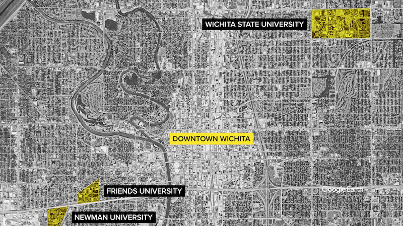 Wichita-Map